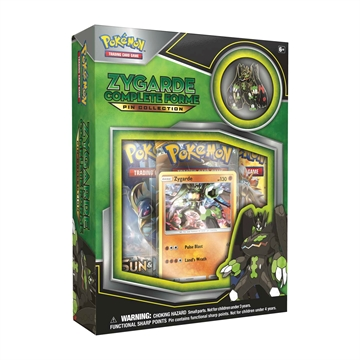 Pokemon Kort - Zygarde complete Forme Pin Collection